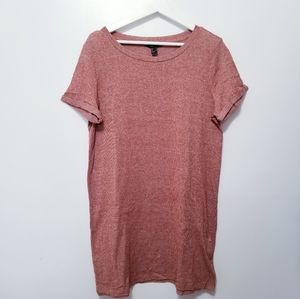 FOREVER 21 Tunic Tee Tops sz L -L14